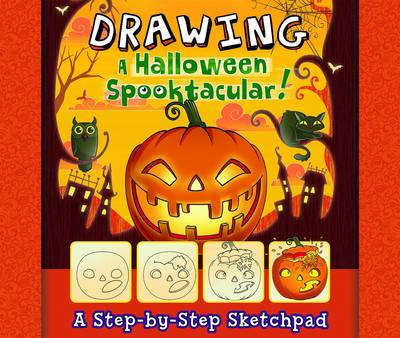 Drawing a Halloween Spooktacular by Jennifer M Besel
