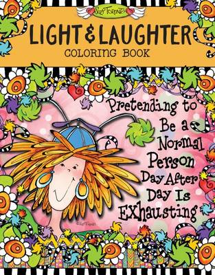 Light & Laughter Coloring Book by Suzy Toronto
