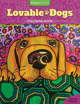 Lovable Dogs Coloring Book by Brenda Abdoyan