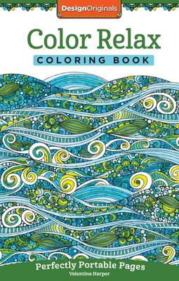 Color Relax Coloring Book by Valentina Harper