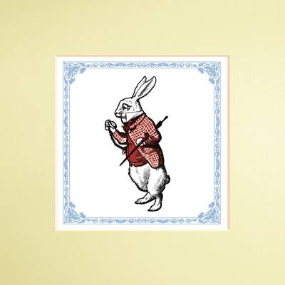 The Macmillan Alice: White Rabbit Print by Lewis Carroll