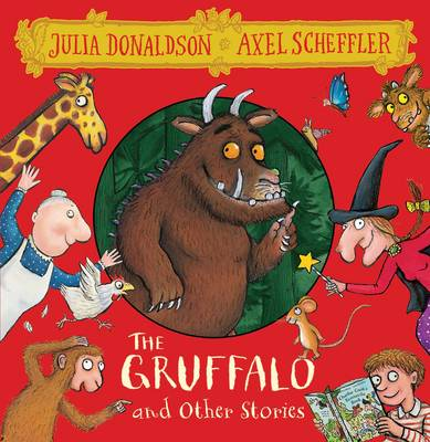 The Gruffalo and Other Stories 8 CD Box Set by