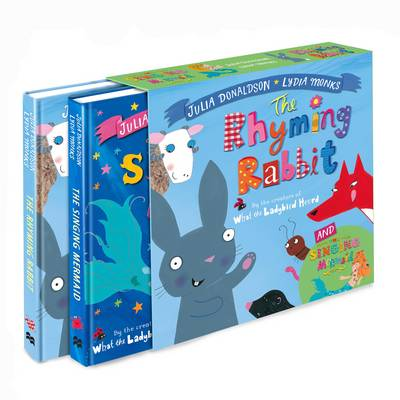 The Singing Mermaid and the Rhyming Rabbit Board Book Gift Slipcase by Julia Donaldson