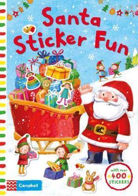 Santa Sticker Fun by Ag Jatkowska