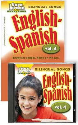Bilingual Songs, English-Spanish by Sara Jordan