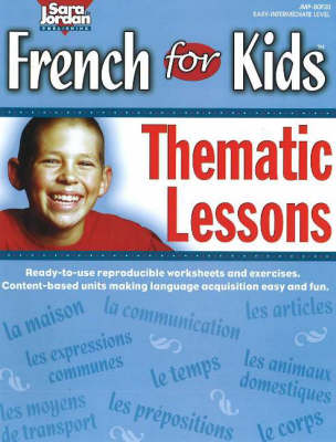 Resource Book Thematic Lessons by Sara Jordan