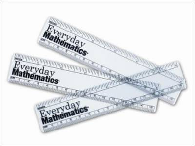 Everyday Mathematics, Grades 1-3, Rulers, 6 Inch/15 Centimeters by McGraw-Hill Education
