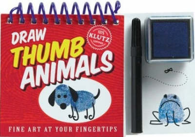 Draw Thumb Animals by Editors of Klutz
