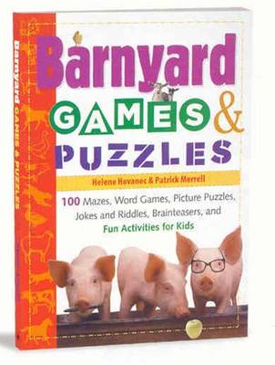 Barnyard Games and Puzzles by Helene Hovanec, Patrick Merrell
