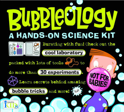 Bubbleology (US Edition) A Hands-on Science Kit by Innovative Kids