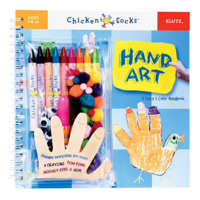 Hand Art A Trace and Colour Handbook by Editors of Klutz