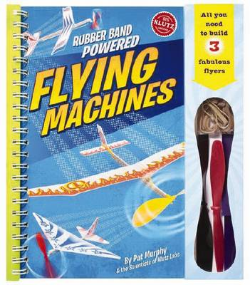 Rubber-band-powered Flying Machines Pack 6 by