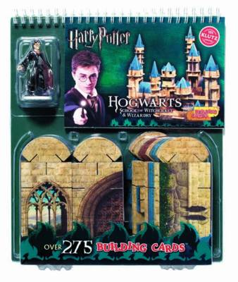Harry Potter: Hogwarts Building Cards School of Witchcraft & Wizardry by Klutz Press