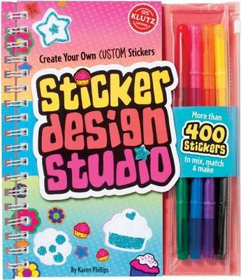 Sticker Design Studio 6 Copy Pack by Editors of Klutz, Karen Phillips