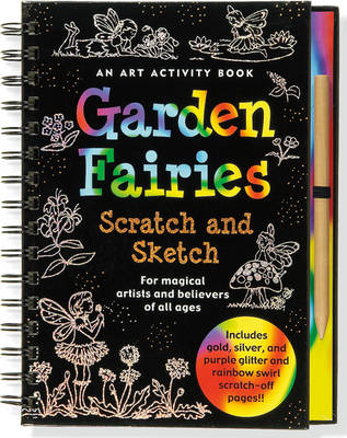 Sketch and Scratch Flower Fairies by Peter Pauper Press