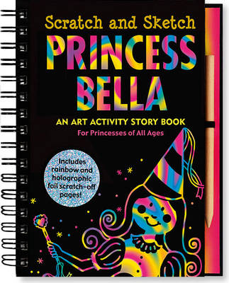 Sketch and Scratch Princess by Peter Pauper Press