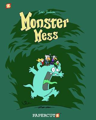 Monster Graphic Novels: Monster Mess by Lewis Trondheim