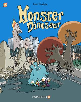 Monster Graphic Novels: Monster Dinosaur by Lewis Trondheim