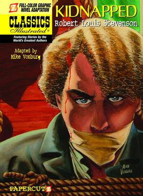 Classics Illustrated #16: Kidnapped Kidnapped by Mike Vosburg, Robert Louis Stevenson