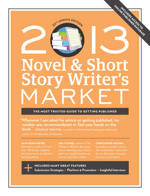 2013 Novel & Short Story Writer's Market by Scott Francis
