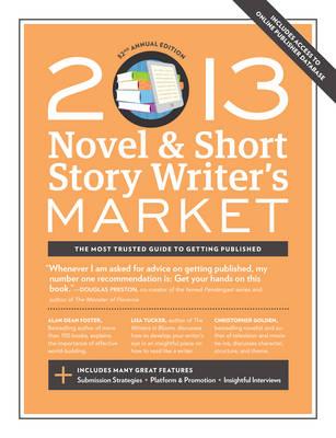 2013 Novel & Short Story Writer's Market by Scott Francis