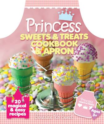 Princess Sweets and Treats Cookbook and Apron by Genevieve Ko Sweet
