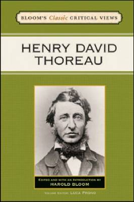 Henry David Thoreau by Prof. Harold Bloom
