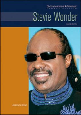 Stevie Wonder Musician by Jeremy K Brown
