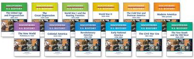 Discovering U.S. History Set by Consulting Editor Richard Jensen Various