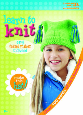 Learn to Knit: Hat Kit by Leisure Arts