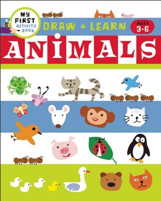 Draw + Color Fun Animals by Harriet Ziefert, Tanya Roitman
