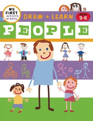 Draw + Color Fun People by Harriet Ziefert, Tanya Roitman
