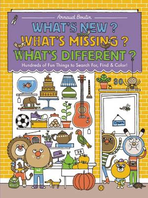 What's New? What's Missing? What's Different? by Arnaud Boutin