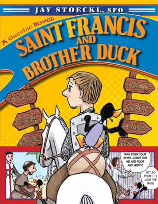 Saint Francis and Brother Duck by Jay, SFO Stoeckl