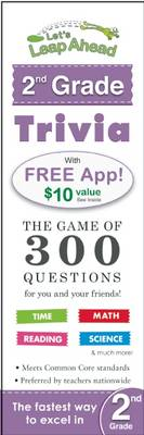 Let's Leap Ahead 2nd Grade Trivia Notepad The Game of 300 Questions for You and Your Friends! by Alex A. Lluch