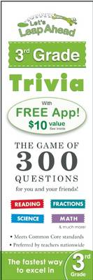 Let's Leap Ahead 3rd Grade Trivia Notepad The Game of 300 Questions for you and your friends! by Alex A. Lluch