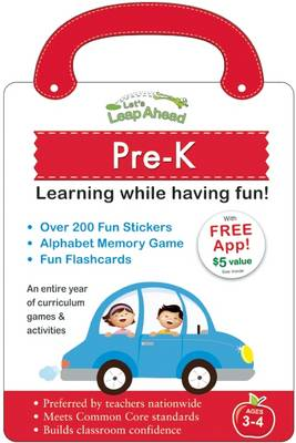 Let's Leap Ahead: Pre-K Learning While Having Fun! by Alex A. Lluch