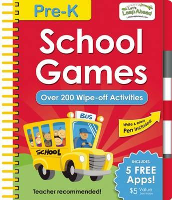 Let's Leap Ahead Pre-K School Games by Alex A. Lluch