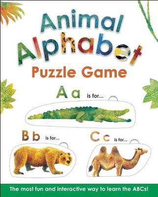 Animal Alphabet Puzzle Game by Alex A. Lluch