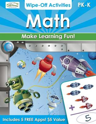 Math Wipe-off Activities Endless Fun to Get Ready for School! by Alex A. Lluch