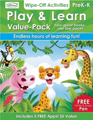 Play & Learn - Value Pack 4 Wipe-off Activities Books by Alex A. Lluch