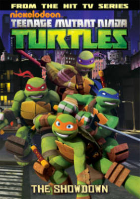 Teenage Mutant Ninja Turtles Animated The Showdown by Joshua Sternin, J R Ventimilia