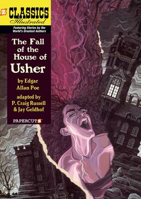 Classics Illustrated No. 20 The Fall of the House of Usher by Edgar Allan Poe