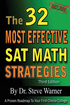 The 32 Most Effective SAT Math Strategies by Dr Steve Warner