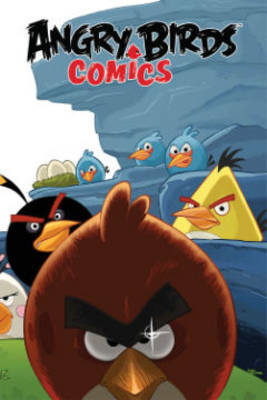 Angry Birds Comics Welcome to the Flock by Paul Tobin, Jeff Parker, Cesar Ferioli, Paco Rodrigues