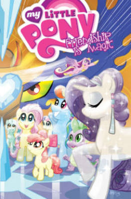 My Little Pony Friendship is Magic by Amy Mebberson, Heather Nuhfer
