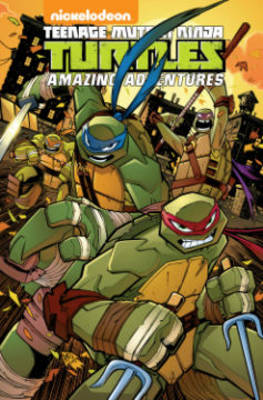 Teenage Mutant Ninja Turtles: Amazing Adventures by Peter DiCicco, Ian Flynn, Fabian, Jr. Rangel, Caleb Goellner