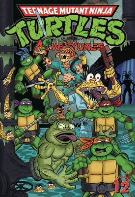 Teenage Mutant Ninja Turtles Adventures by Dean Clarrain, Chris Allan