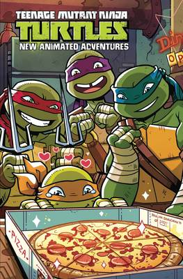 Teenage Mutant Ninja Turtles: New Animated Adventures Omnibus by Dario Brizuela, David Alvarez, Chad Thomas, Marcelo Ferreira