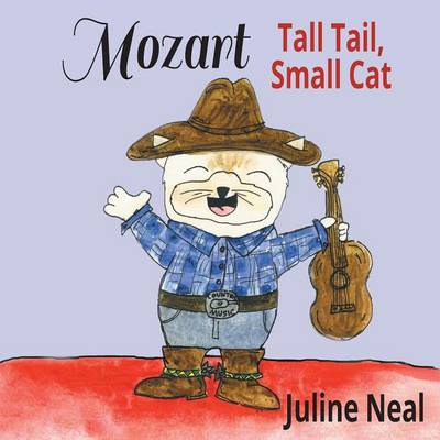 Mozart Tall Tail, Small Cat by Juline Neal